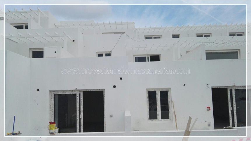 Reforma de complejo de apartamentos en Lanzarote